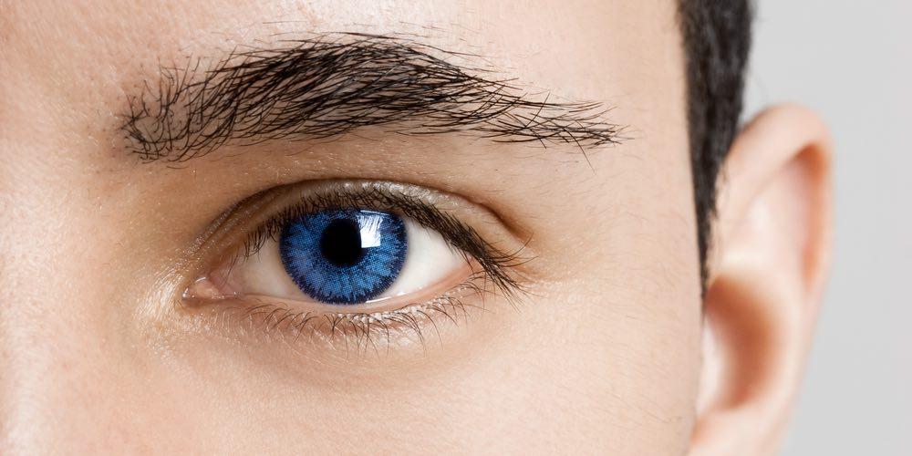 Endring av øyenfarge